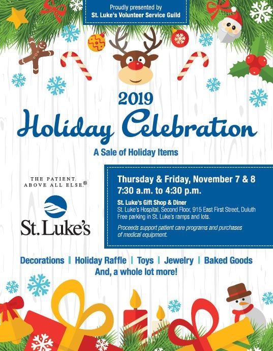 St. Luke's 2019 Holiday Sale