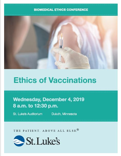 Biomedical Ethics Conference - Ethics of Vaccination