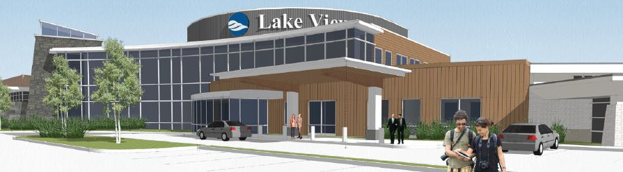 Lake View Hospital Rendering