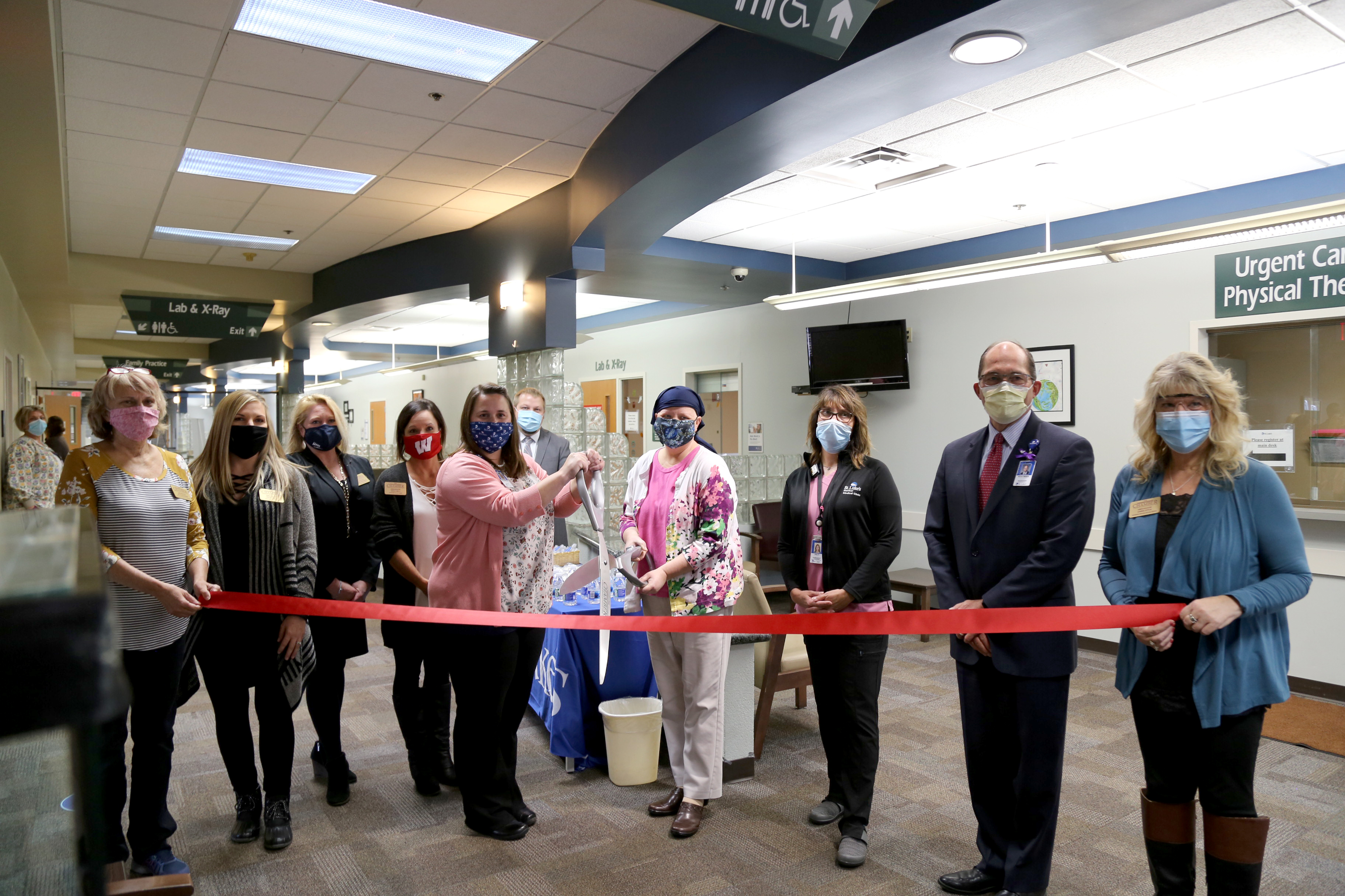 St. Luke's Mariner Medical Clinic 3D Mammography Ribbon Cutting