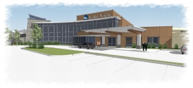 Rendering of Lake View Hospital Expansion