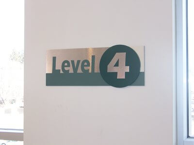 Level 4 Sign